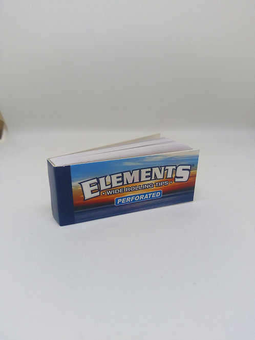 element wide perforated tips