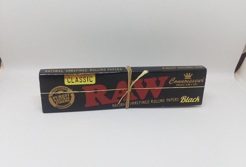 raw black connoisseur