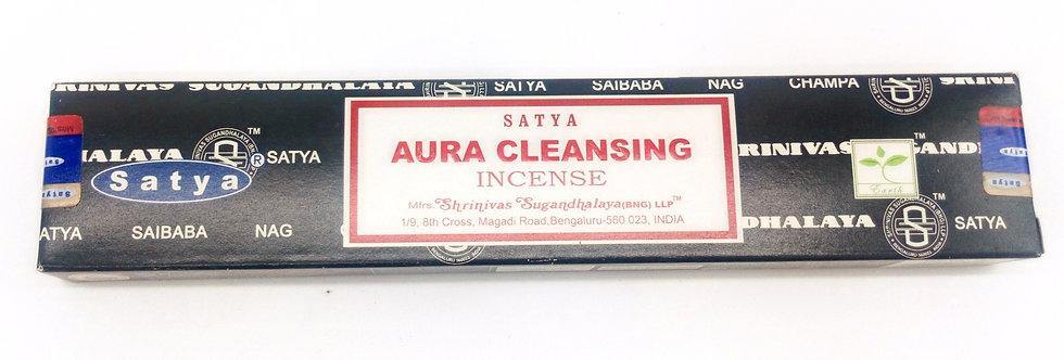 Satya Aura Cleansing incense