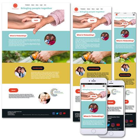 Timebank Website | Bankside systems