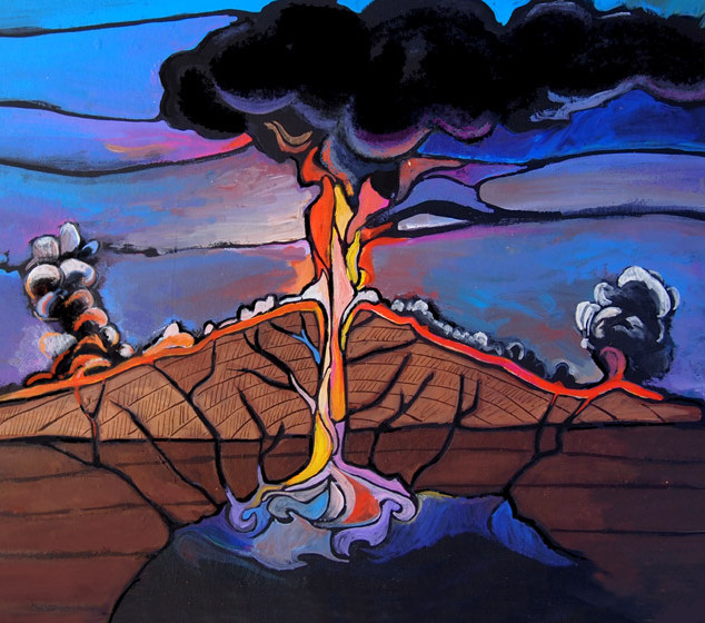 Life of a Volcano -2