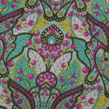 Paisley Rabbit Fabric