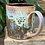 Thumbnail: Pastel Wild Flower Mug *wonky rim* It's got personality