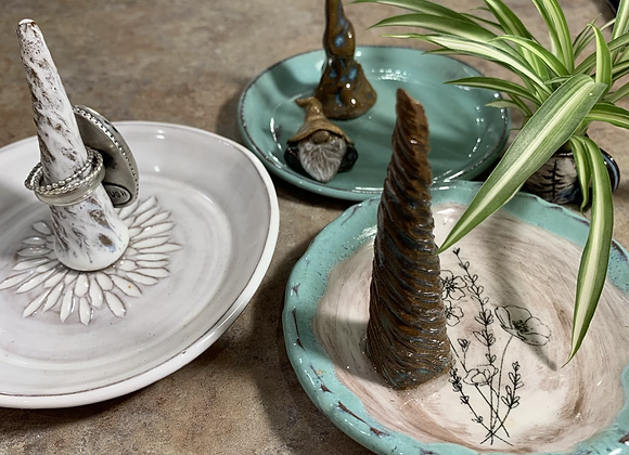 Jewelry Plate w/ Ringholder