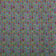Colourful evil eye repeating pattern
