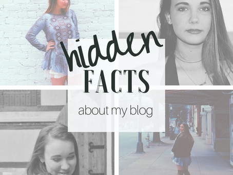 hidden facts about ➪ my blog