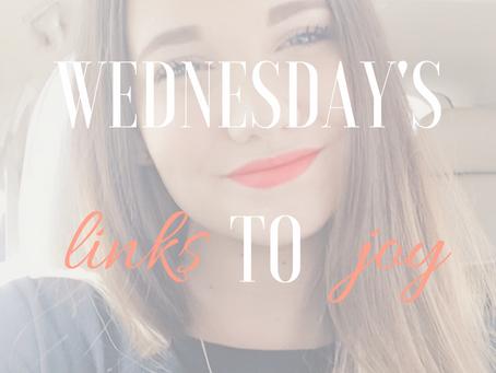 wednesday's links to joy