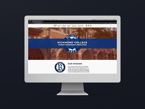 Richmond College Student Government Association Website