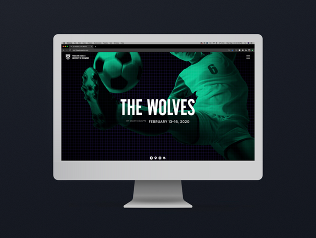 The Wolves: Theatre Production Website