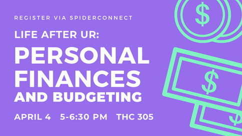 Personal Finances & Budgeting Career Services