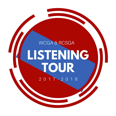 SGA Listening Tour Logo