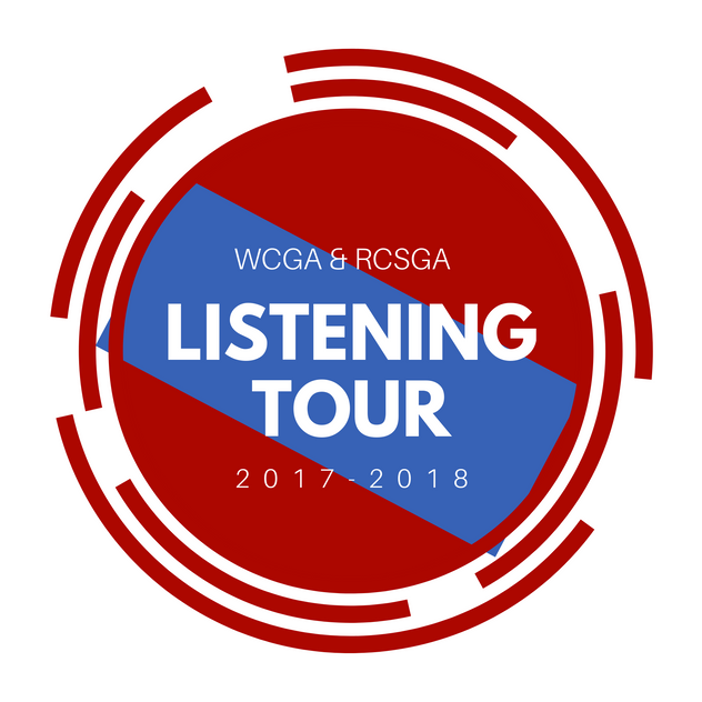 SGA Listening Tour Logo