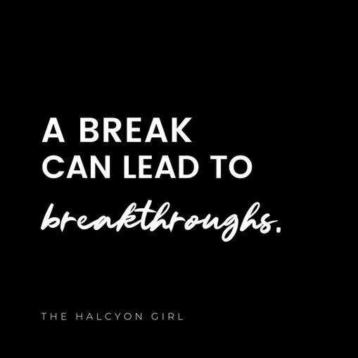 Update from The Halcyon Girl