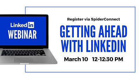 LinkedIn Webinar Digital Flyer