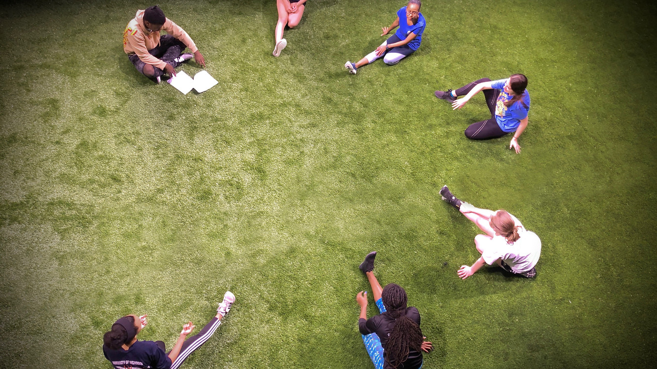 STRETCHING ON THE TURF