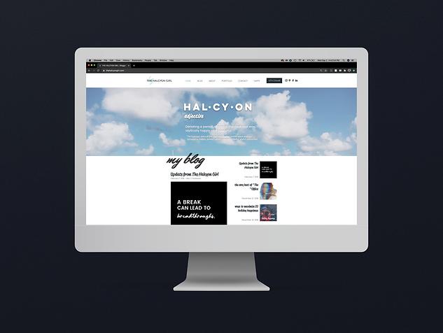 The Halcyon Girl Blog & Website