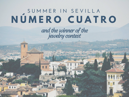 Summer in Sevilla: Post #4 + winner of jewelry contest!