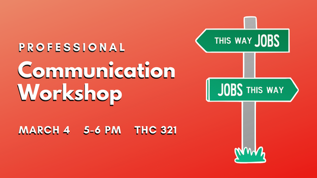 Communication Workshop Career Services
