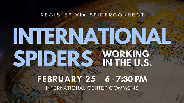 International Spiders Career Services Flyer