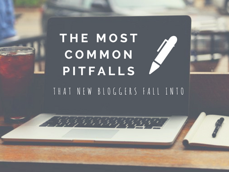 the most common pitfalls that new bloggers fall into