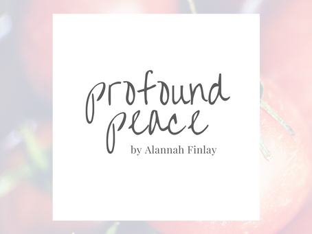 profound peace by Alannah Finlay