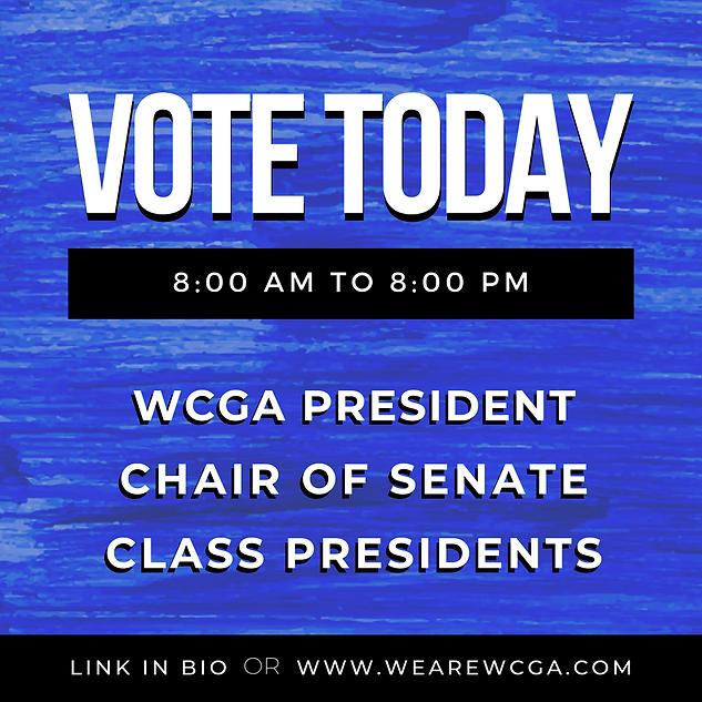 WCGA Elections 2019 Social Media
