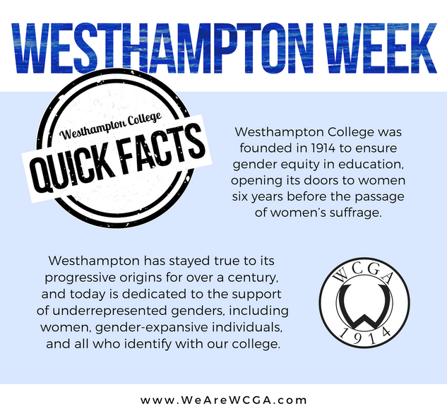 Westhampton Week Quick Facts Social Media