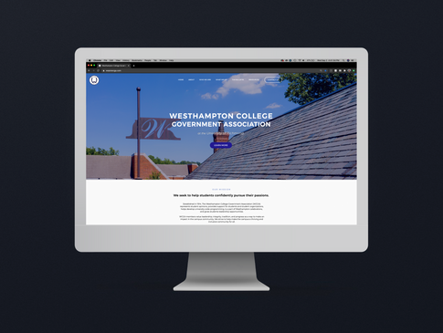 Westhampton College Government Association Website