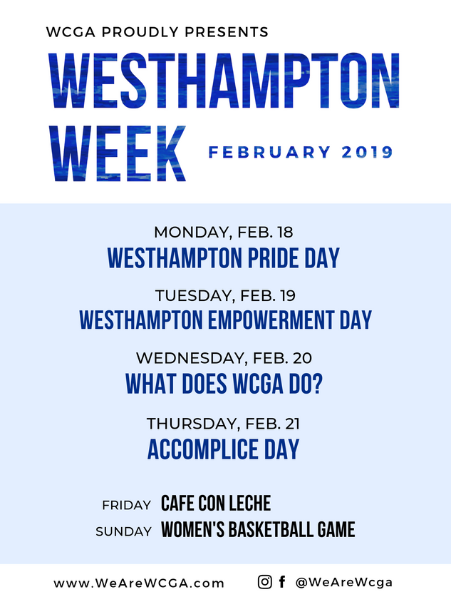 Westhampton Week 2019 Flyer
