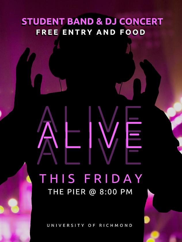 Alive 2018 Student Concert