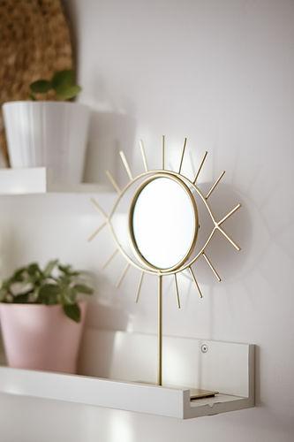 Canva - Round Eye Design Mirror Near Gre
