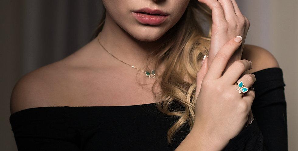 """Bracelet """"Coeur"""" réversible"""