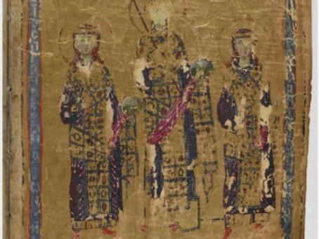 Manuscrito Grec 510 da Biblioteca Nacional de Paris contendo as Homilias de Gregório de Nazianzo