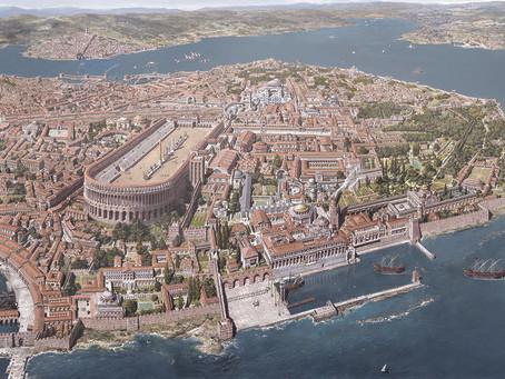 A cidade bizantina: da polis clássica ao kastron medieval