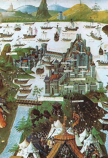 O cerco de Constantinopla