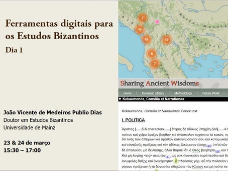 Ferramentas Digitais para os Estudos Bizantinos - videos e slides