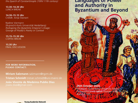 Evento: Languages of Power and Authority in Byzantium and Beyond