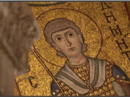 Vídeo com cinco igrejas bizantinas na Grécia