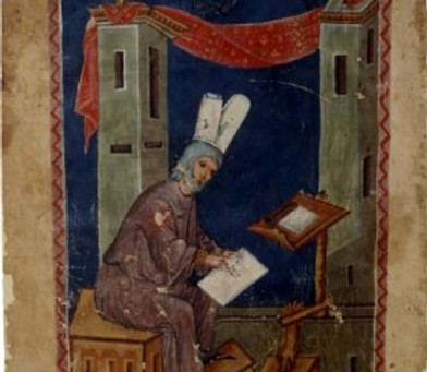 Vídeo com técnicas para composição de manuscrito bizantino