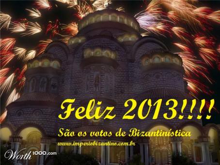 Votos de Bizantinística de Feliz Ano Novo