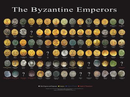 Rostos imperiais em moedas