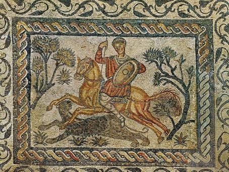 Mais belos mosaicos bizantinos I: os painéis da Igreja de São Vital em Ravena