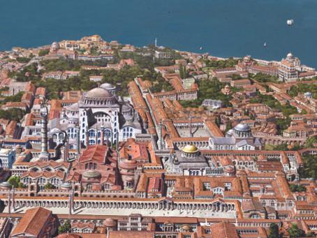 Ilustrações de Constantinopla por Antoine Helbert
