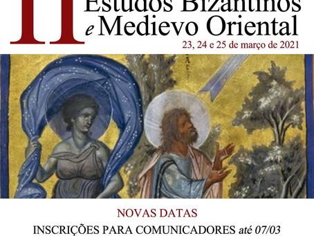 II Jornada Internacional de Estudos Bizantinos e Medievo Oriental