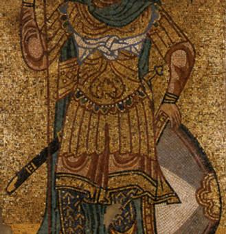 Santos guerreiros bizantinos: mártires, guerreiros e orixás