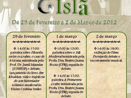 II Semana de Estudos do Medievo Oriental – Islã