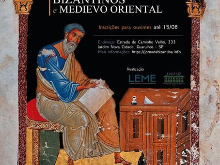 I Jornada de Estudos Bizantinos e Medievo Oriental