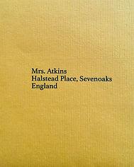 Anna Atkins Sevenoaks England