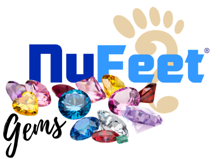 So NuFeet® Gems seems to be the new wave