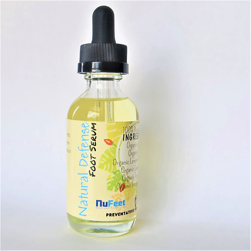 NuFeet® Natural Defense Anti-fungal Foot Serum